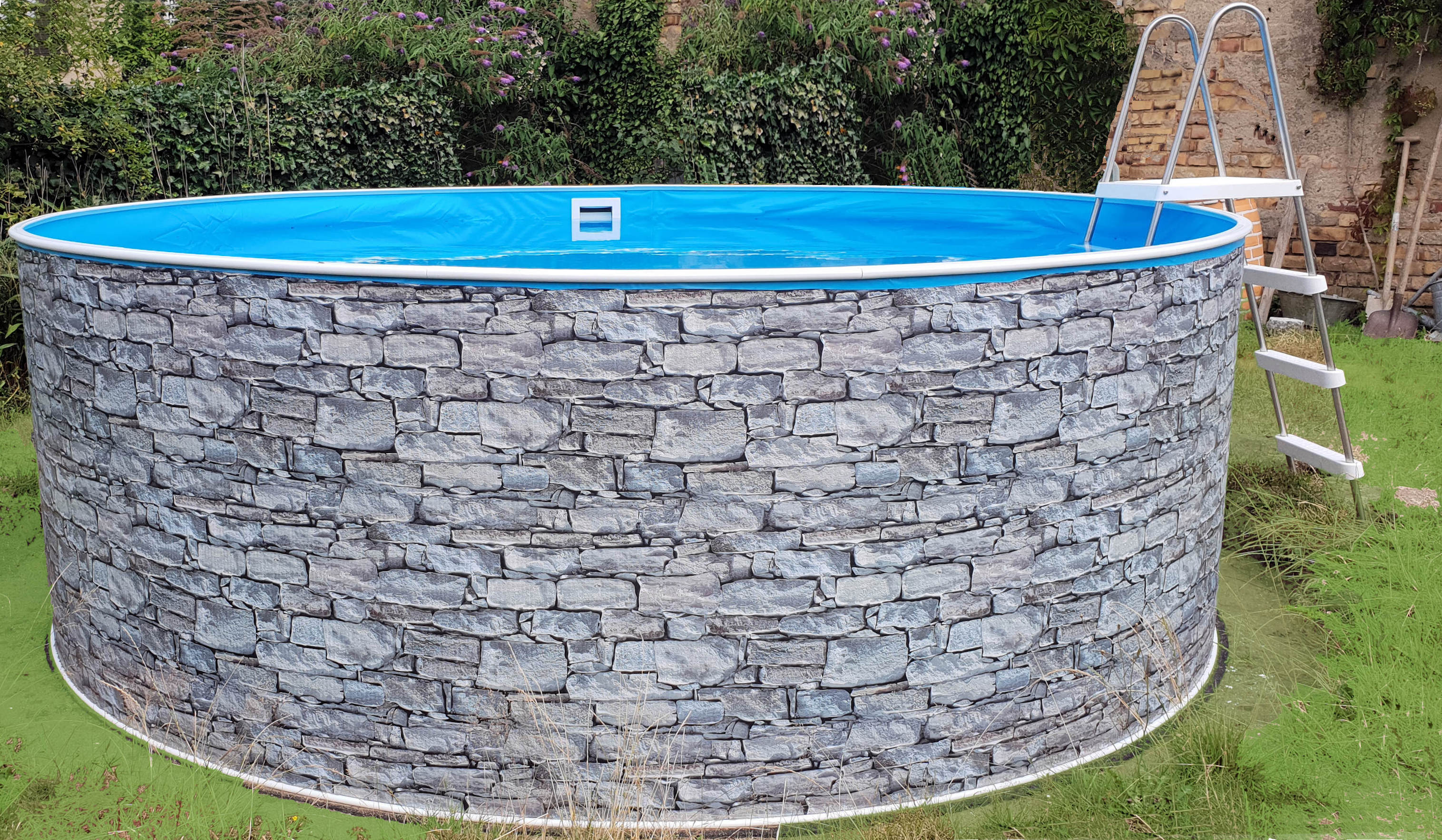 Pool Ohne Filteranlage Kaufen Swimmingpool Swimmingpools Pool Pools Rundbecken Ovalbecken