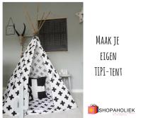 DIY: maak zelf je eigen Tipi-tent | Shopaholiek
