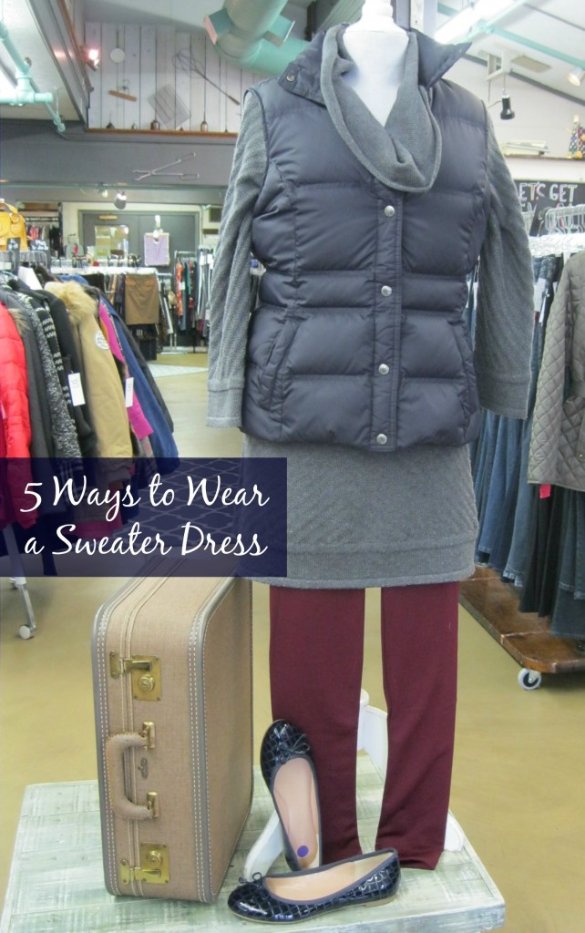 Vacation Wardrobe Blog What To Wear Wednesday 5 Ways To Wear A Sweater Dress