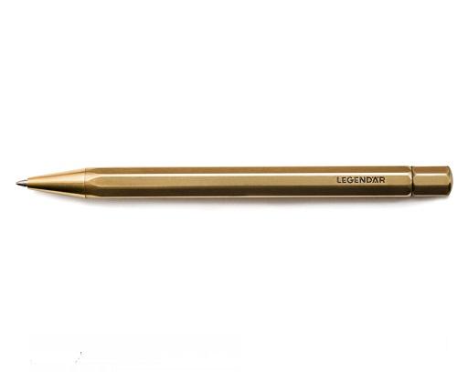Twist Ballpoint Pen Lgndr Brass Deskstore The Shop