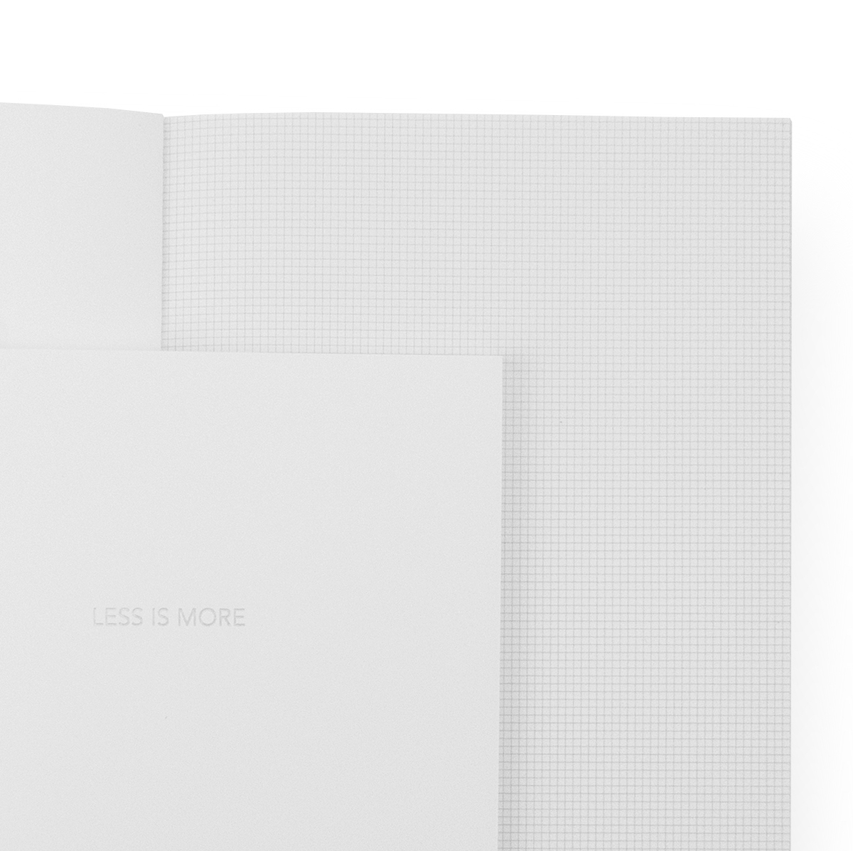 Notebook Weiß Notebook With Graph Paper Archiquote Cahier Weiss