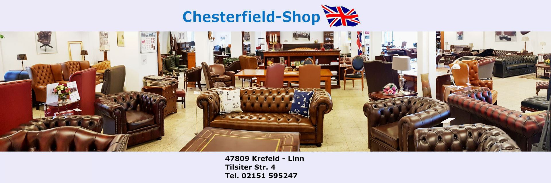Made Sofa Shop Chesterfield Shop De Chesterfield Sofas Sessel Made In