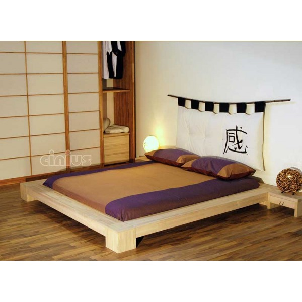 Futonbett 200x200 Isola Japanese Bed