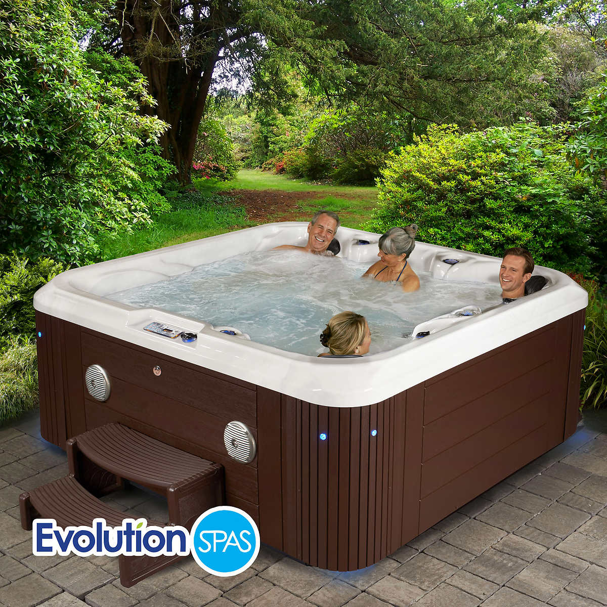 Jacuzzi Pool Jet Evolution Spas Hampton 90 Jet 6 Person Spa Accommodates