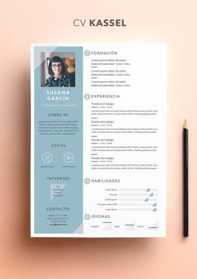 Descargar plantillas de currículum gratis Modelo Curriculum