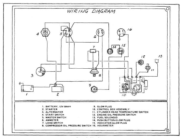 Wiring Diagram For Compressor Single Phase Air compressor wiring