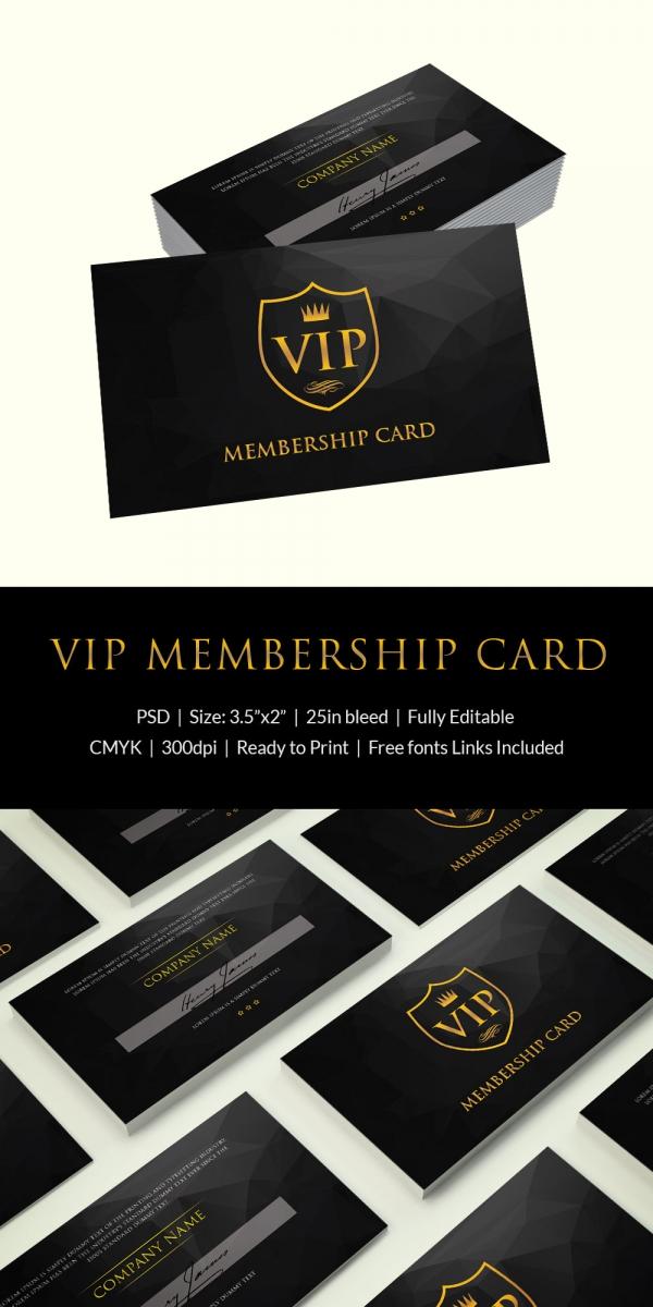 Free Printable Membership Cards shop fresh
