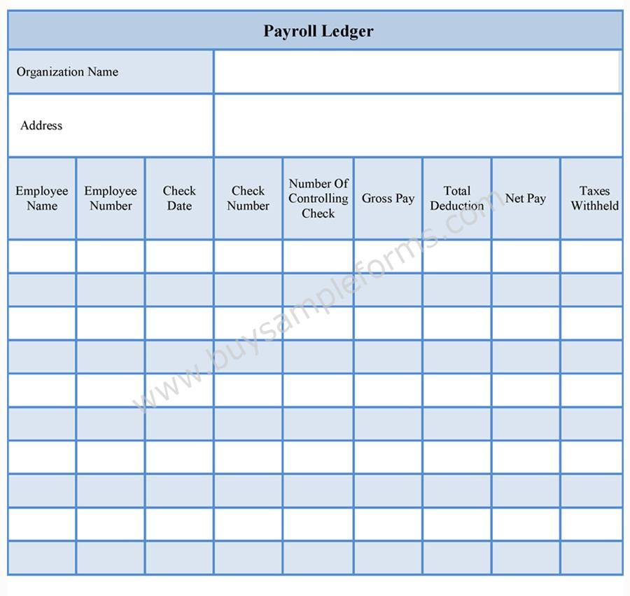 Printable Payment Ledger shop fresh