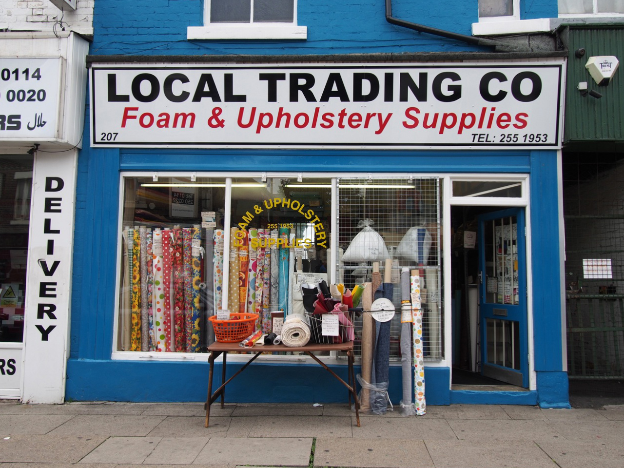 Upholstery Foam Yorkshire Local Trading Co Foam And Upholstery Supplies 2013 Shop Fronts
