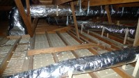 Insulating Attic Furnace Ducts  Attic Ideas