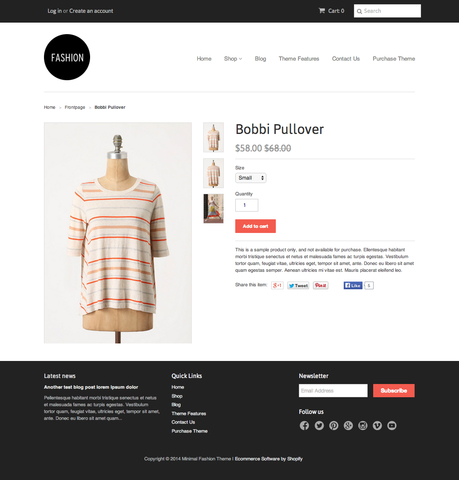 Ecommerce University Changing Product Page Template - Shopify Design - shopify template