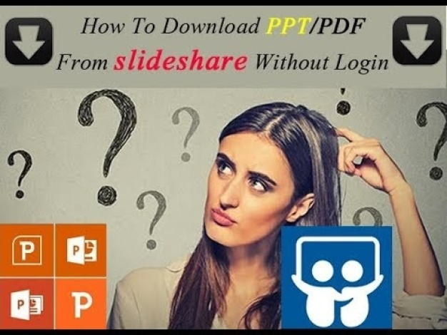 How To Download PPT From slideshare Without Login How To Download