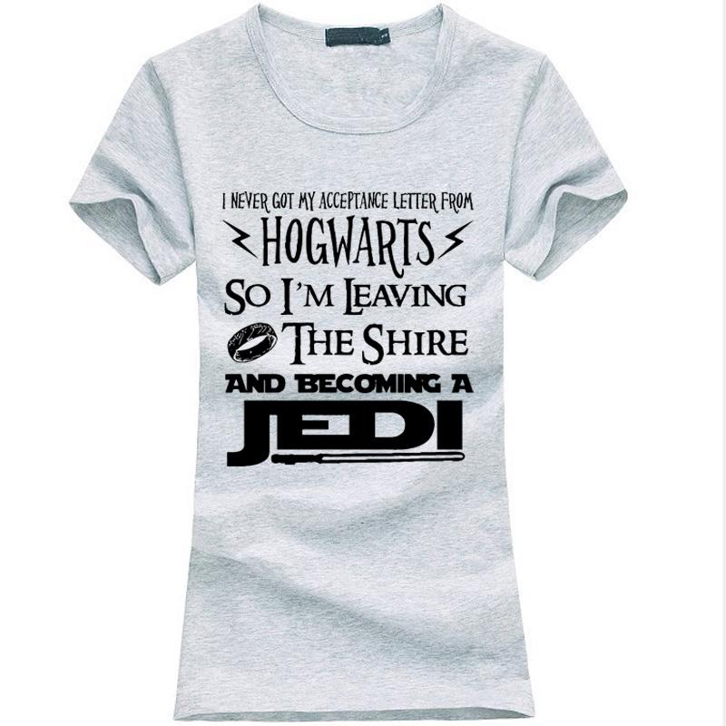 Hogwarts Acceptance Letter Funny T-Shirt women Shop Local Communities