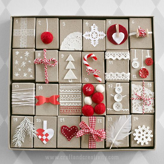 Make Your Own Advent Calendar Class - Shop Local Raleigh - Calendar Class