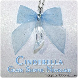 Cinderella Glass Slipper Necklace