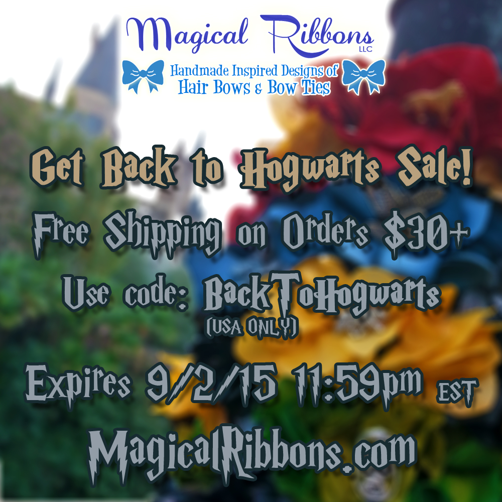 Back to hogwarts sale