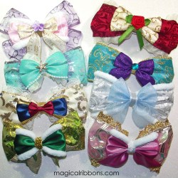 Princess Holiday Bows