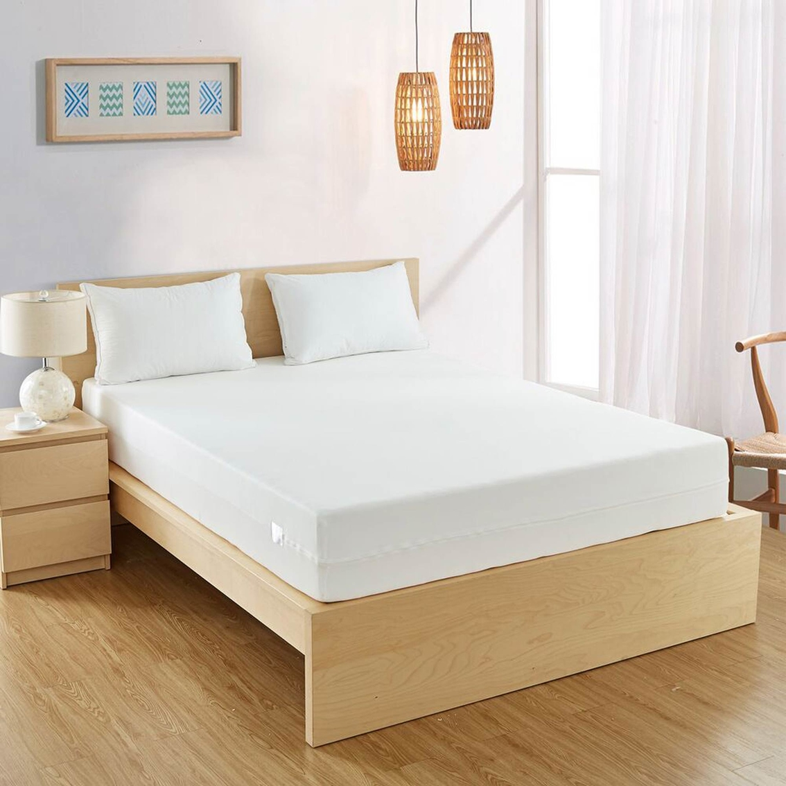 Bed Bug Protection Cover The Bedbug Solution Hybrid Mattress Cover Mattress Pads