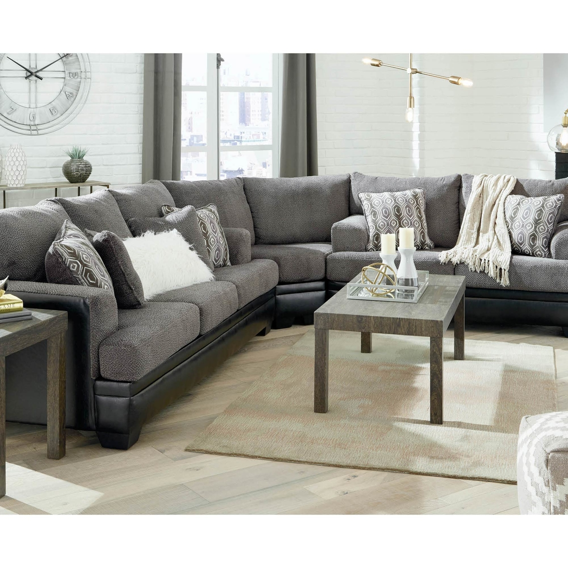 Couches Sleeper Signature Design By Ashley Millingar 3 Pc Sleeper Sectional Sofa