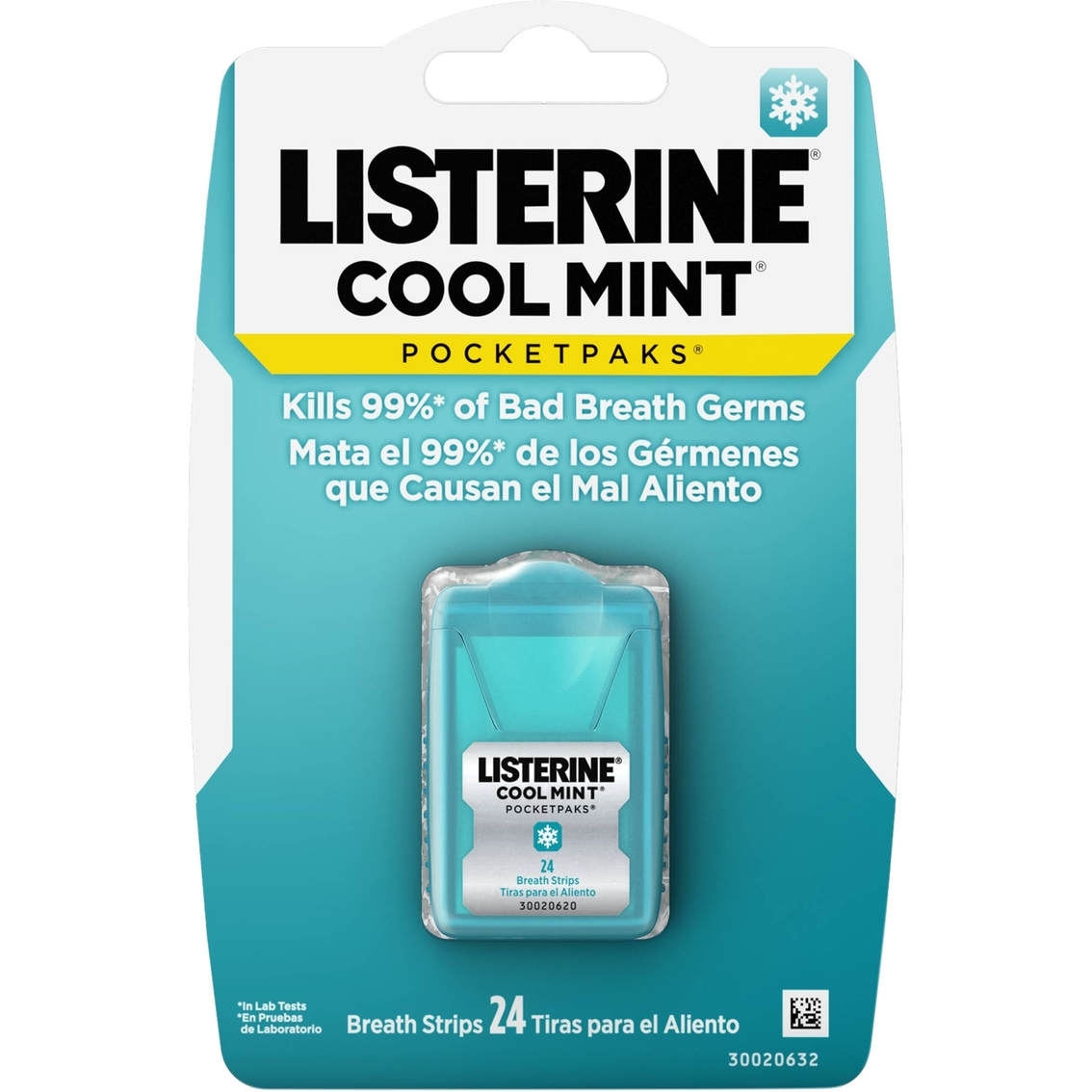 Bad Shop 24 Listerine Pocketpaks Breath Strips Cool Mint 24 Ct Mouthwash