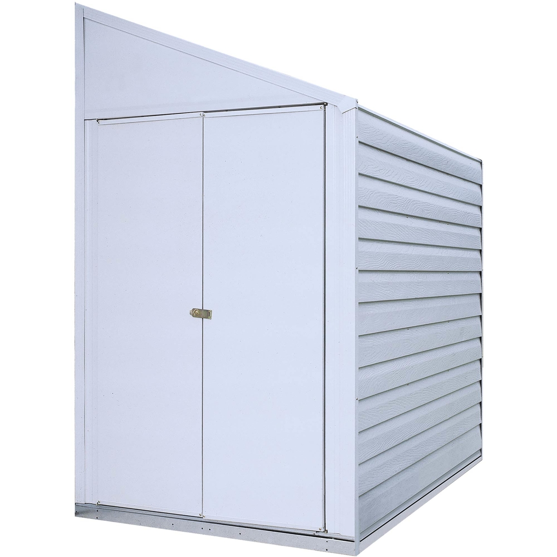Steel Storage Sheds Arrow Yardsaver 4 X 7 Ft Steel Storage Shed Pent Roof Storage