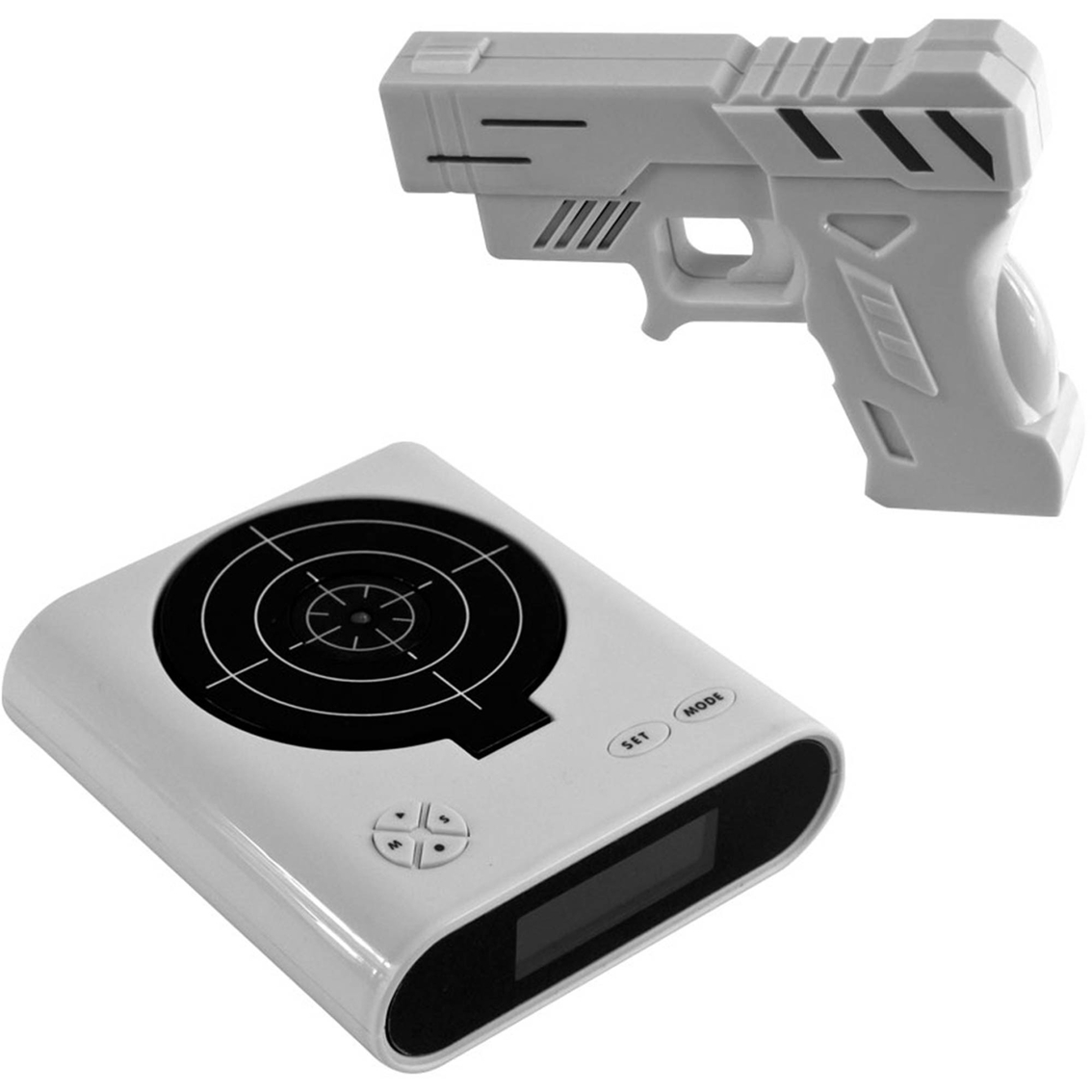 Alarm Clocks Target Trademark Games Gun And Target Alarm Clock Clocks Home