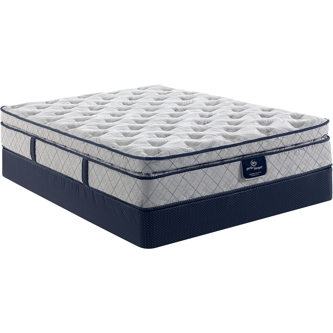 Low Profile Innerspring Mattress Serta Perfect Sleeper Hanslow Super Pillow Top Mattress