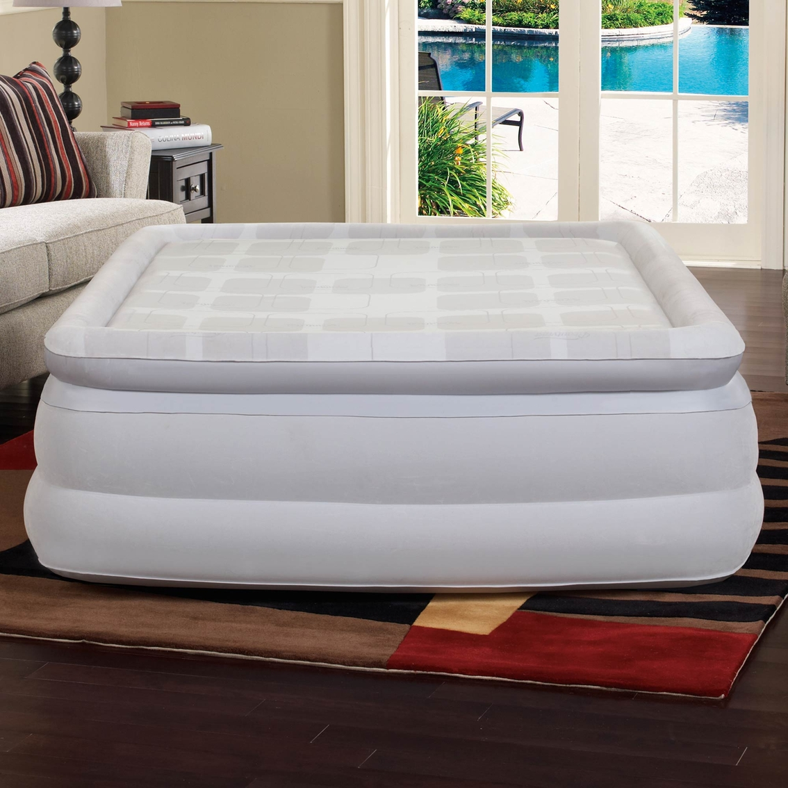 Sealy Vs Beautyrest Simmons Beautyrest Memory Aire 18 In Queen Airbed Serta Simmons