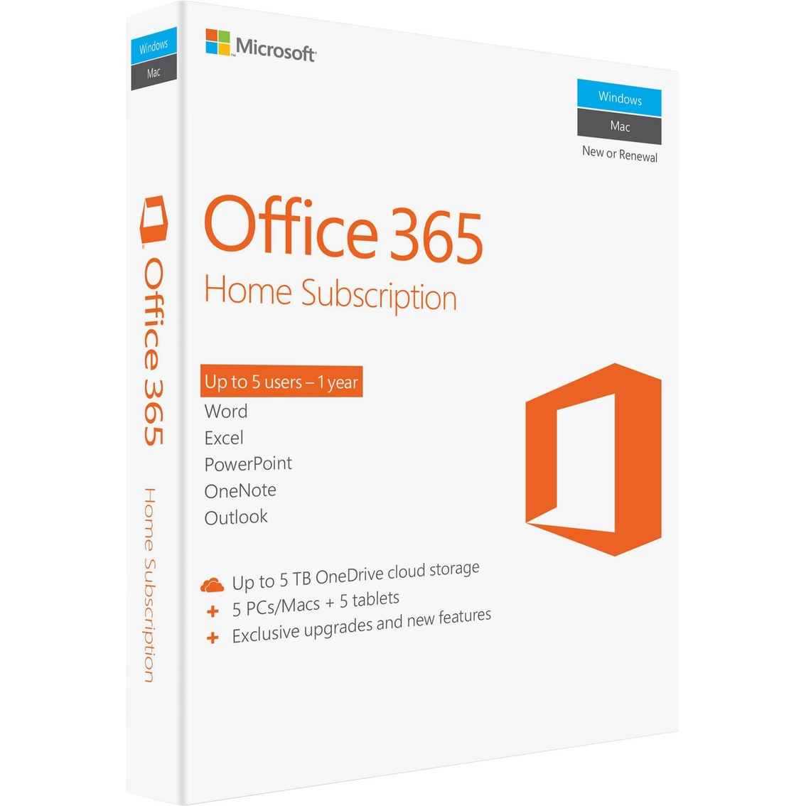 Microsoft Products Microsoft Office 365 Home Subscription Military Edition