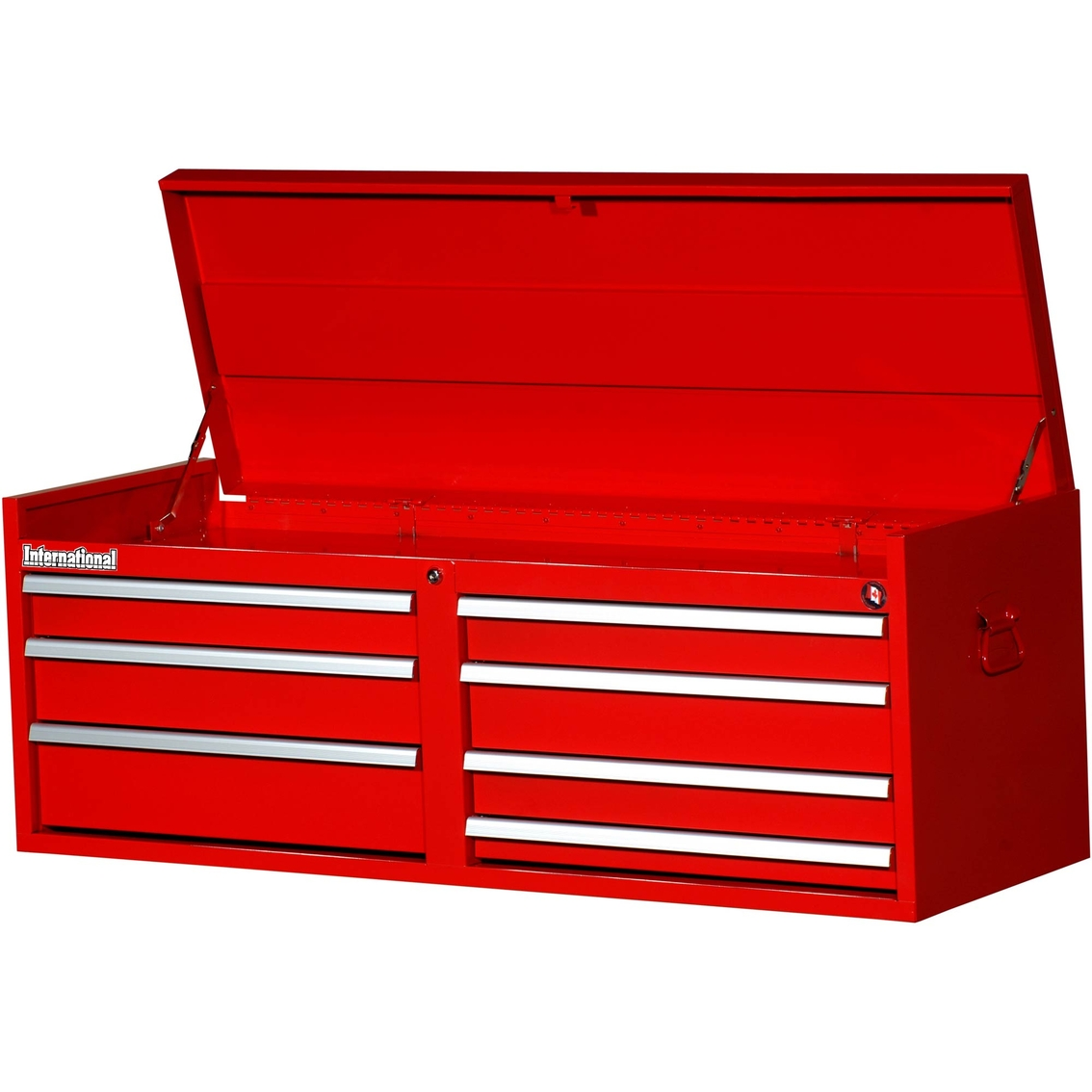 Shop Tool Boxes International 54 In 7 Drawer Ball Bearing Slides Top Chest Tool