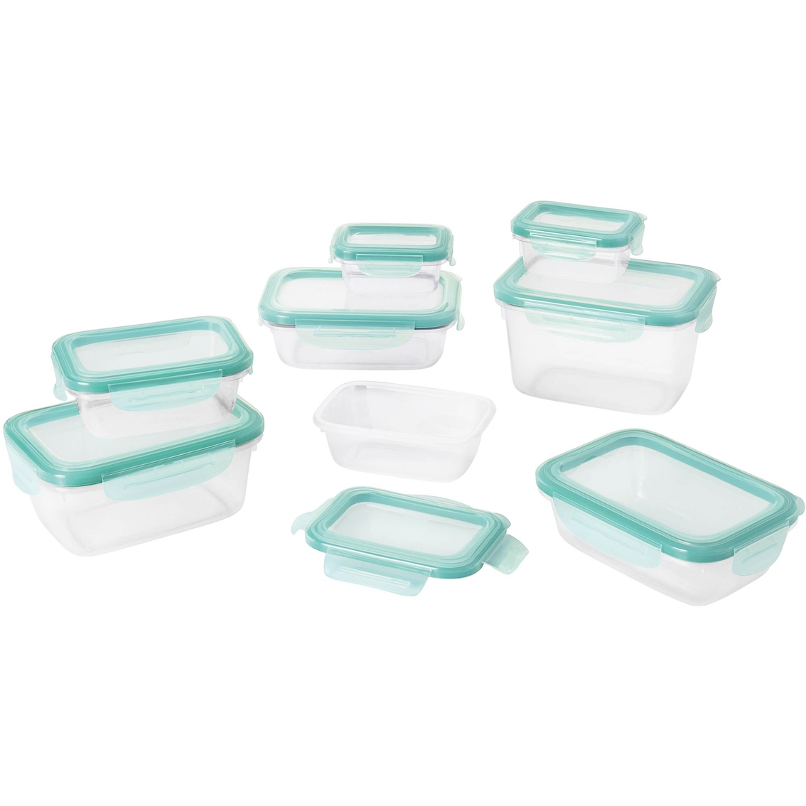 Oxo Good Grips Snap 16 Pc Plastic Food Storage Container Set Food Storage Household Shop The Exchange