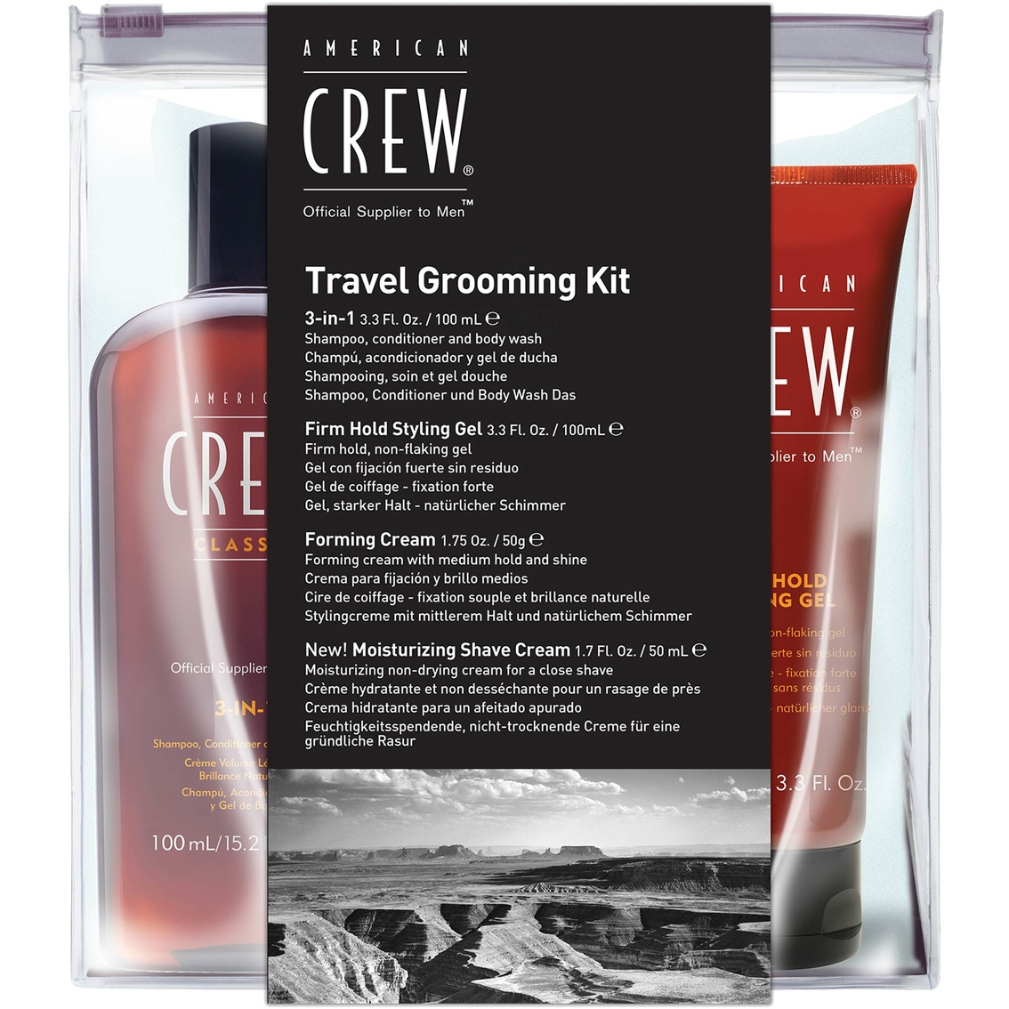 American Crew Travel Grooming Kit Men S Sets Kits Father S - 1 Und 1 Shop