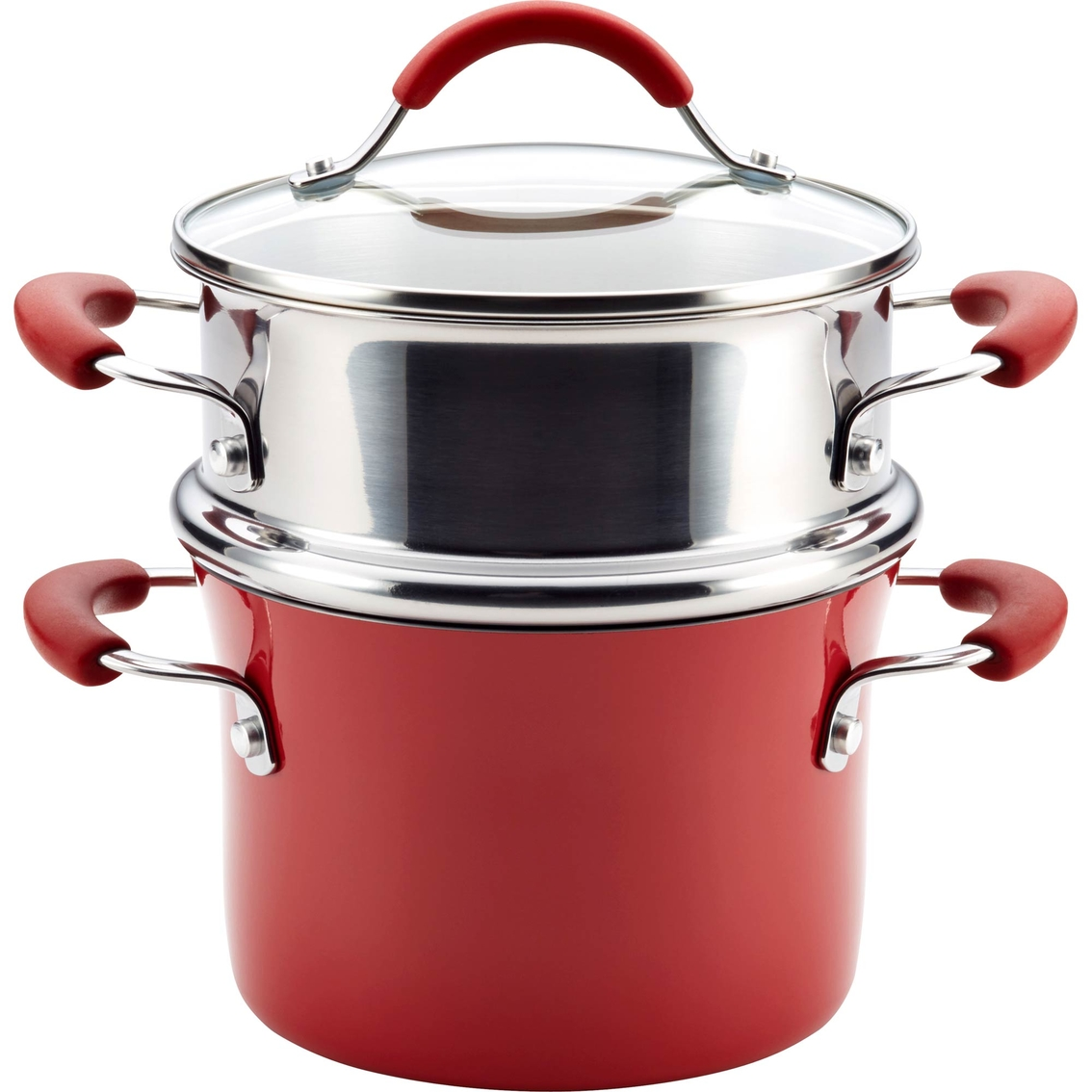 Cucina Kitchen Appliances Rachael Ray Cucina Hard Porcelain Enamel Nonstick Multi Pot With