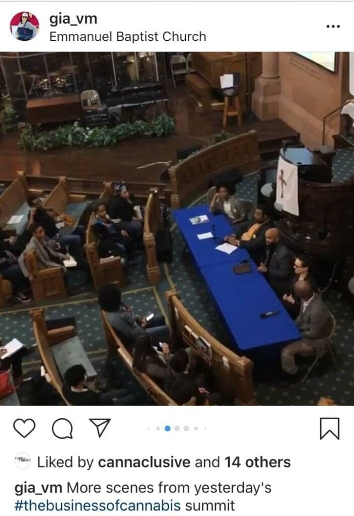 Cannabis Conference at Emmanuel Baptist Calls for #EquityDayOne