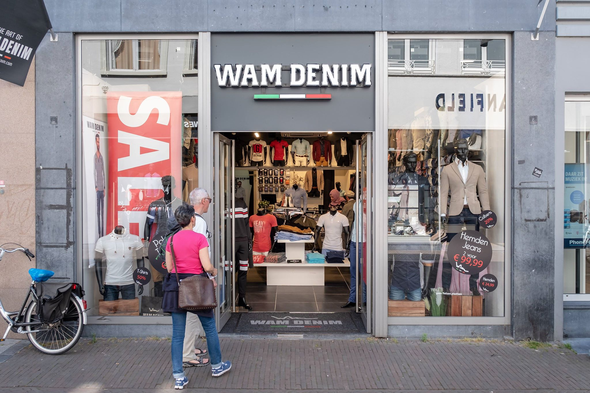 Openingstijden Winkels Deventer Wam Denim Shoppen In Deventer