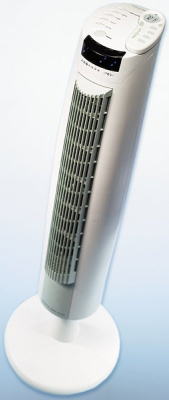 OxygenFresh Spire Fan with Temperature Sensor