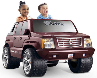 Fisher-Price Power Wheels Cadillac Escalade Ride-On Truck