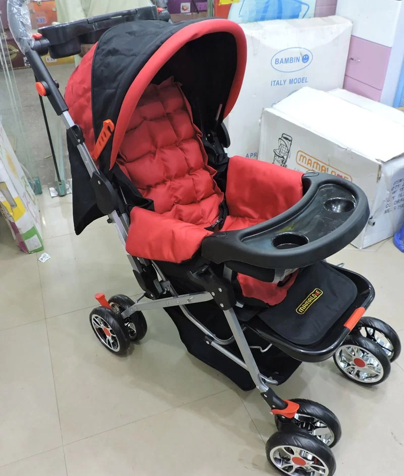 Baby Stroller Price In Pakistan Buy 3 Position Baby Stroller In Red At Best Price In Pakistan