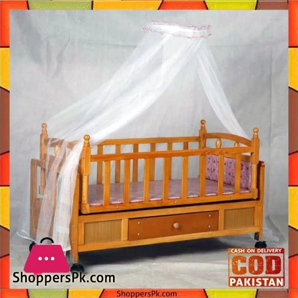 Baby Cots Price In Pakistan Buy High Quality Wooden Baby Sleeping Cot 661d At Best