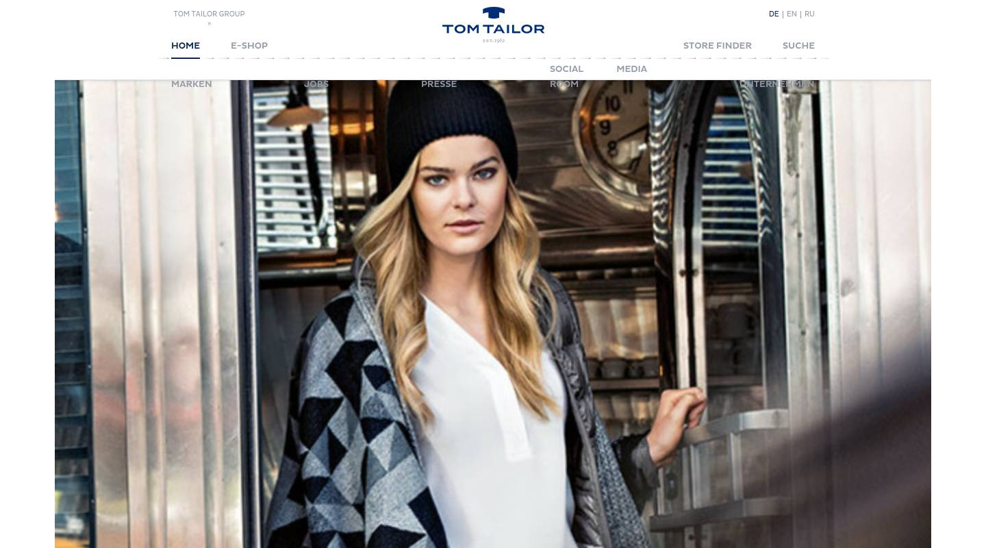 Zom Tailor Tom Tailor Fashion And Clothing Stores In Germany Kempten