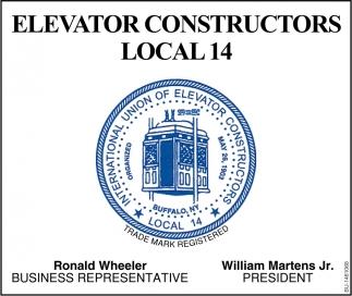 International Union Of Elevator Constructors , International Union