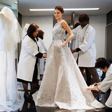 примерка свадебного платья в милане