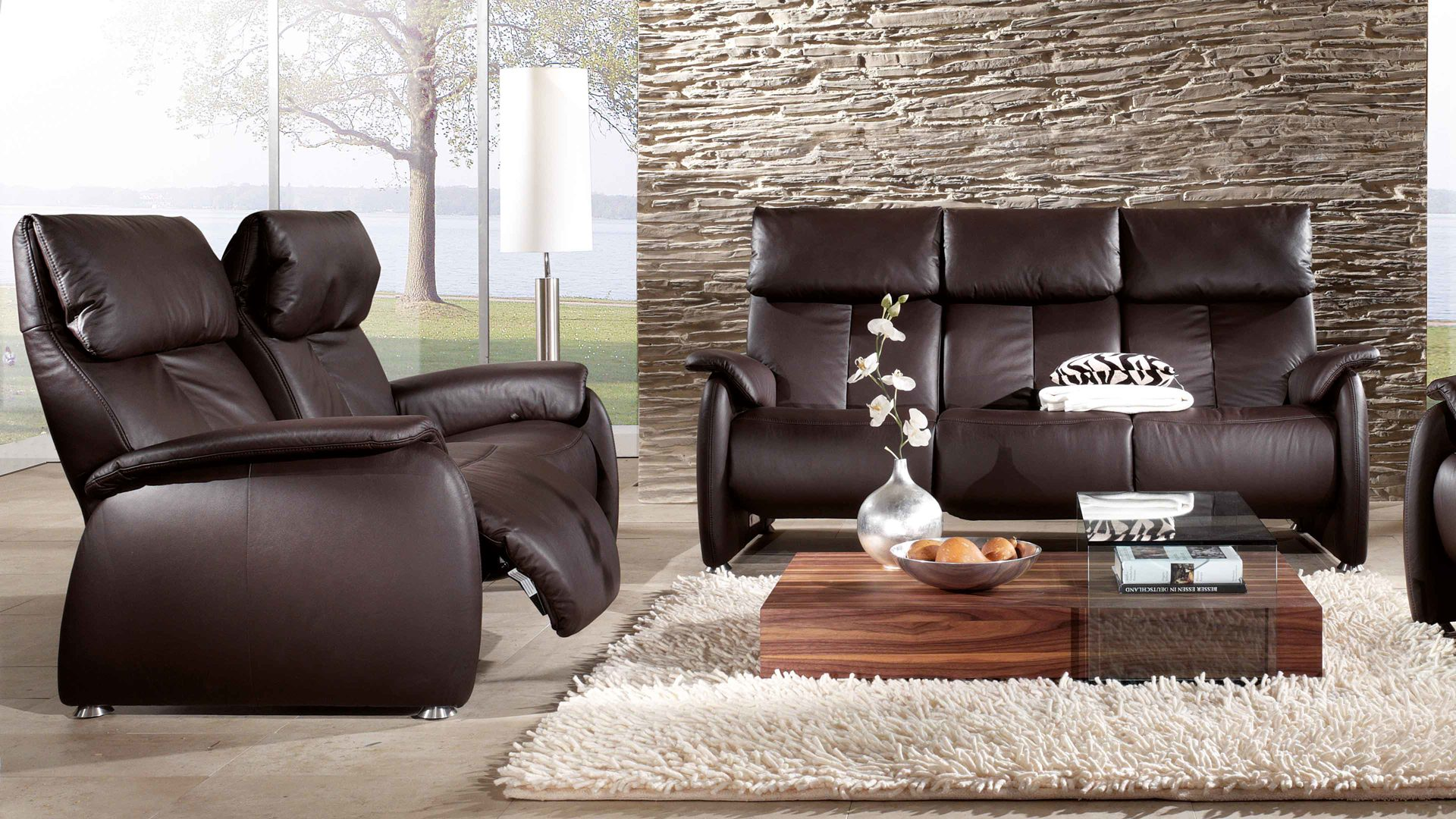 Himolla Relax Sofa 2 5 Sitzer Longlife By Himolla Affordable Das Bild Wird Geladen With