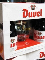 Set 4 Bia Duvel (Bỉ) 330ml + Glass