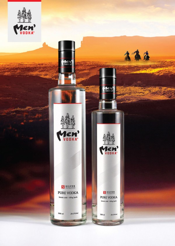 Rượu Vodka Men 500ml