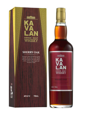 Rượu Kavalan Sherry oak Single Malt Whisky 700ml