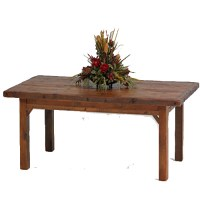 Stony Brooke - Farmhouse Table - Rustic | Log | Reclaimed ...