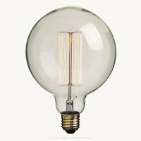 Large Globe Squirrel Cage Filament Bulb | Hoi P'loy ...