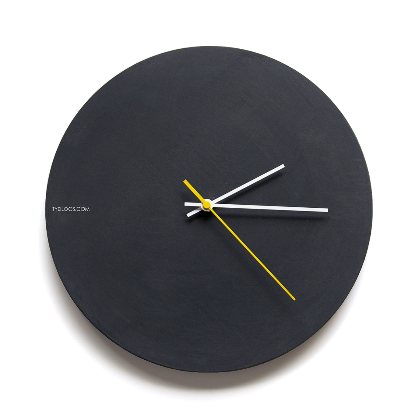 Black Modern Wall Clock Tydloos Com Online Shop