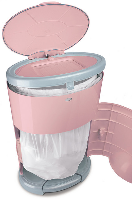 Newborn Baby Activity Toys Dekor Diaper Pail Plus Pink